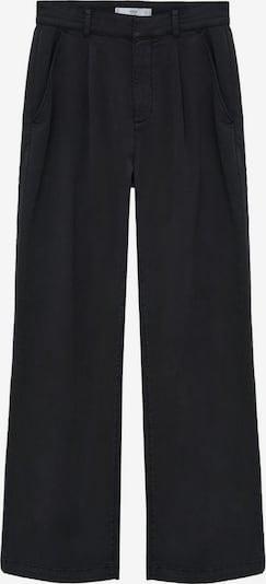 MANGO Kalhoty se sklady v pase 'Filippo' - černá, Produkt