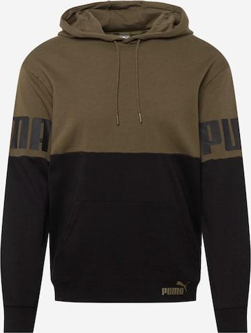 PUMA Sport sweatshirt i grön