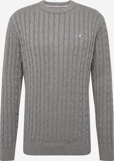 Tommy Jeans Svetr 'TJM ESSENTIAL CABLE SWEATER' - tmavě šedá, Produkt