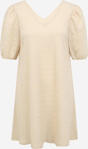 Pieces Petite Kleid 'LIV' i beige