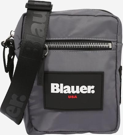 Geantă de umăr 'COLBY' Blauer.USA pe gri argintiu / roșu / negru / alb, Vizualizare produs