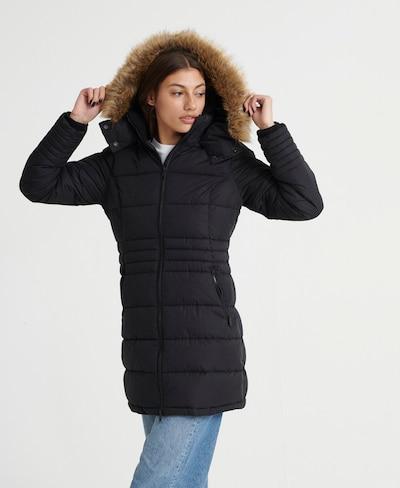 Superdry Mantel 'Kumano' in schwarz, Modelansicht
