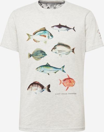!Solid Skjorte 'Makis' i blandingsfarvet / perlehvid: Frontvisning