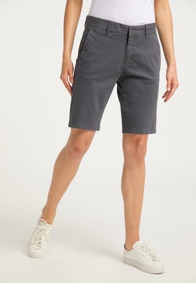 DreiMaster Vintage Shorts in dunkelgrau, Modelansicht