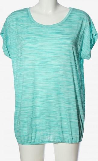 BEACH TIME Kurzarm-Bluse in L in türkis, Produktansicht