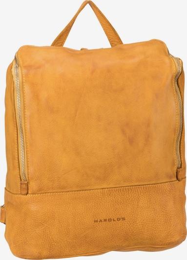 Harold's Rucksack in gelb, Produktansicht