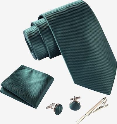 Massi Morino Krawattenbox Set in grün, Produktansicht