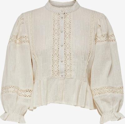 Camicia da donna 'Casablanca' ONLY di colore crema / argento / bianco, Visualizzazione prodotti