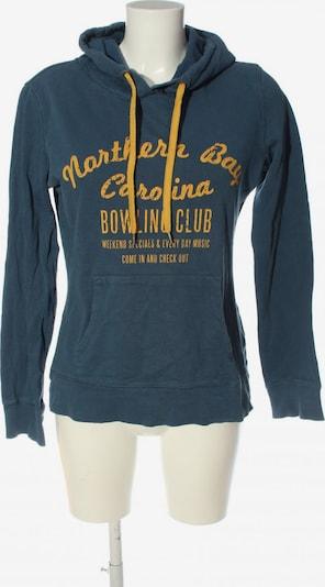 CLOCKHOUSE by C&A Kapuzensweatshirt in XXL in blau / pastellgelb, Produktansicht