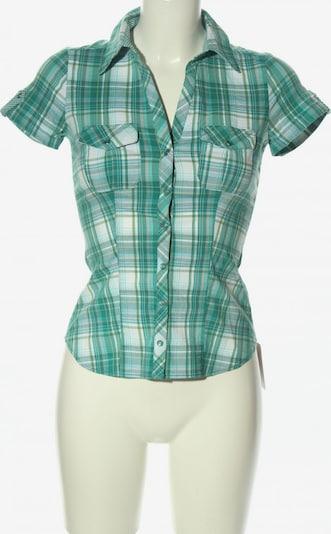 Cache Cache Kurzarm-Bluse in XS in türkis / weiß, Produktansicht