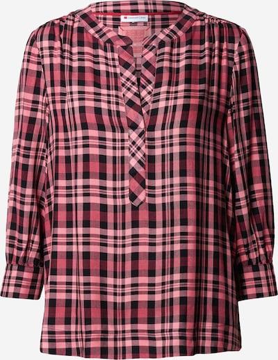 Camicia da donna STREET ONE di colore rosa / nero: Vista frontale