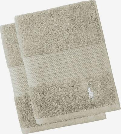 Ralph Lauren Home Towel 'PLAYER' in Beige, Item view