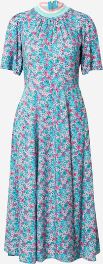 Closet London Kleid in himmelblau / mischfarben, Produktansicht