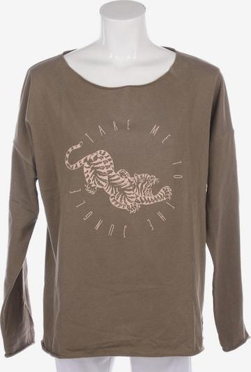 Juvia Sweatshirt & Zip-Up Hoodie in L in Olive, Item view