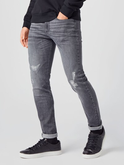 Jeans Calvin Klein Jeans pe denim gri, Vizualizare model
