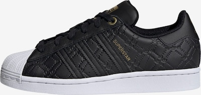 ADIDAS ORIGINALS Sneaker 'Superstar' in gold / schwarz / weiß, Produktansicht