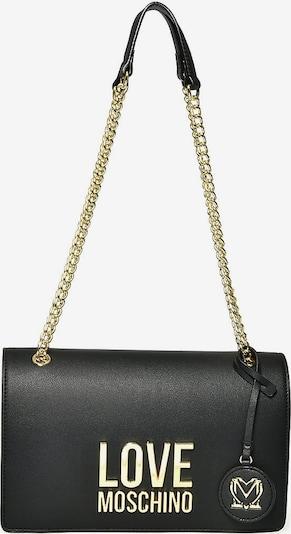 Love Moschino Чанта за през рамо тип преметка в злато / черно, Преглед на продукта