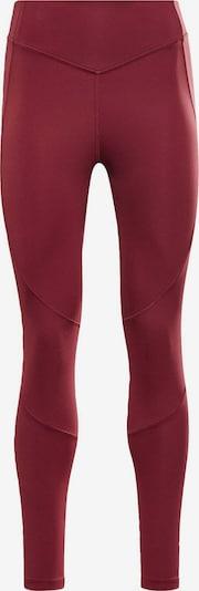 Reebok Sport Pantalon de sport 'Two Tone Studio Tight' en framboise, Vue avec produit