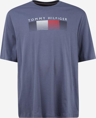 Tommy Hilfiger Big & Tall T-Shirt en bleu nuit / bleu-gris / rouge clair / blanc, Vue avec produit