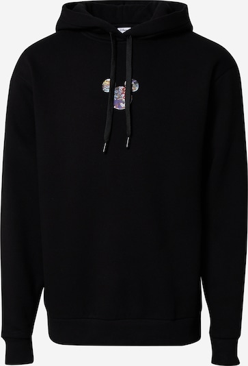 ABOUT YOU x Disney Sweat-shirt 'Yaren' en noir, Vue avec produit