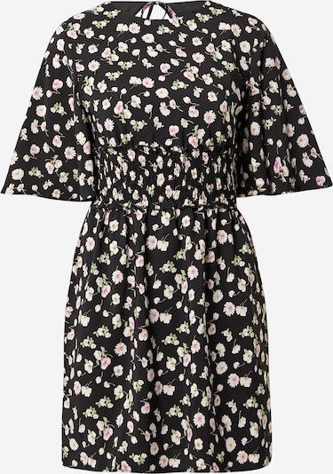 Fashion Union Kleider 'Odine' in hellpink / schwarz / weiß, Produktansicht