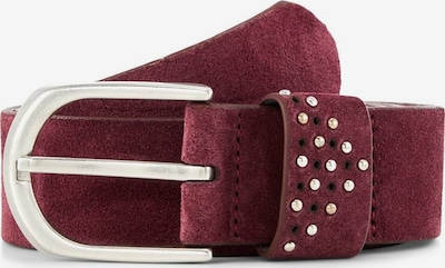 TOM TAILOR Belt in Red / Bordeaux, Item view