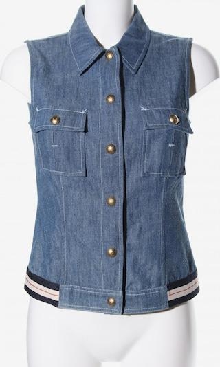 Rena Lange Jeansweste in S in blau / schwarz / weiß, Produktansicht