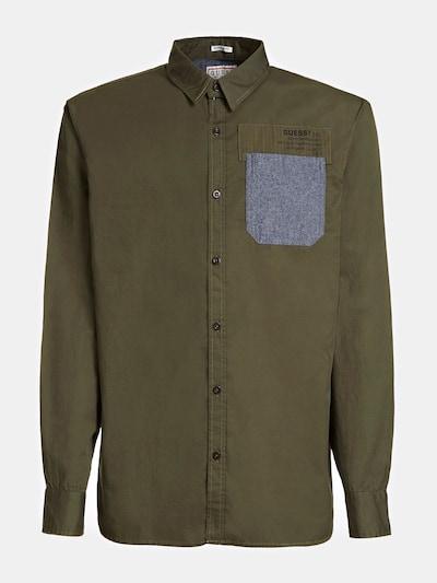 GUESS Hemd in khaki, Produktansicht