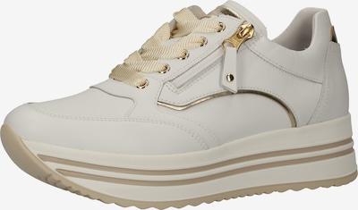 Nero Giardini Sneakers laag in de kleur Goud / Wit, Productweergave