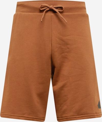 ADIDAS PERFORMANCE Spodnie sportowe w kolorze karmelowy / czarnym, Podgląd produktu