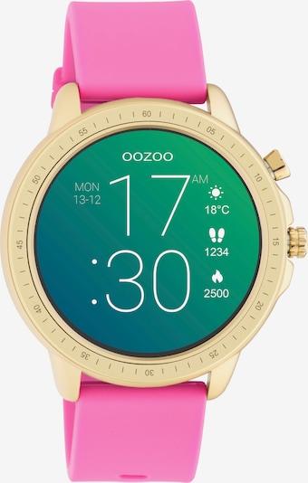 OOZOO Smartwatch in gold / pink, Produktansicht