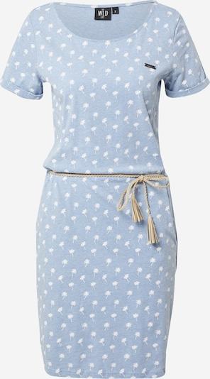 WLD Kleid 'BIRD FLYING HIGH' in blau / weiß, Produktansicht