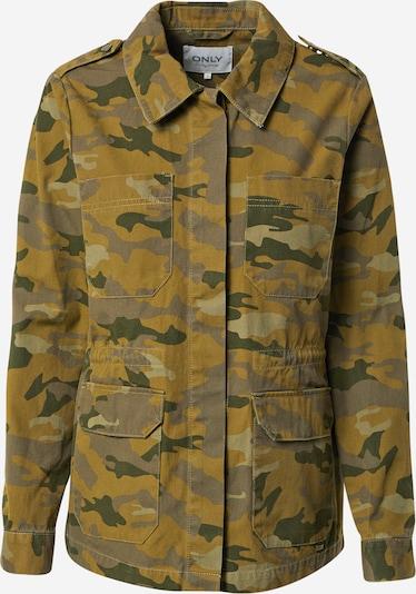 ONLY Overgangsjakke i khaki / oliven / pastelgrøn / mørkegrøn, Produktvisning