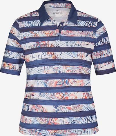 Rabe Poloshirt in marine / hellblau / pfirsich / weiß, Produktansicht
