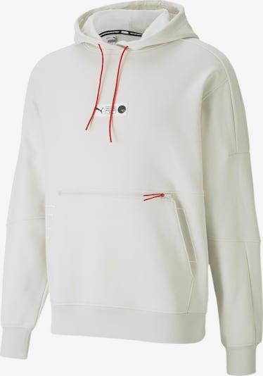 PUMA Sweat de sport en rouge / blanc, Vue avec produit