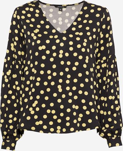 COMMA Bluse i gul / sort, Produktvisning