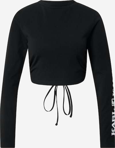 Karl Kani Тениска 'Retro' в черно / бяло, Преглед на продукта