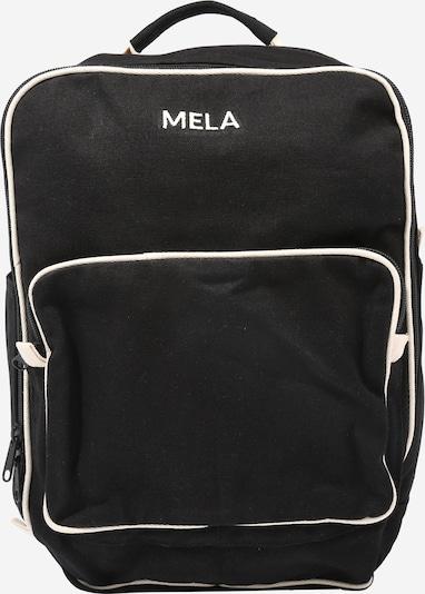 MELAWEAR Backpack 'Rucksack MELA' in Black / White, Item view