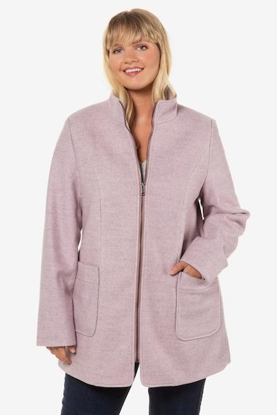Ulla Popken Mantel in grau, Modelansicht