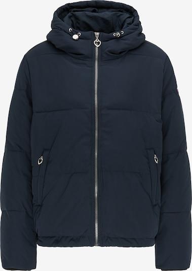 MYMO Winterjas in de kleur Marine, Productweergave