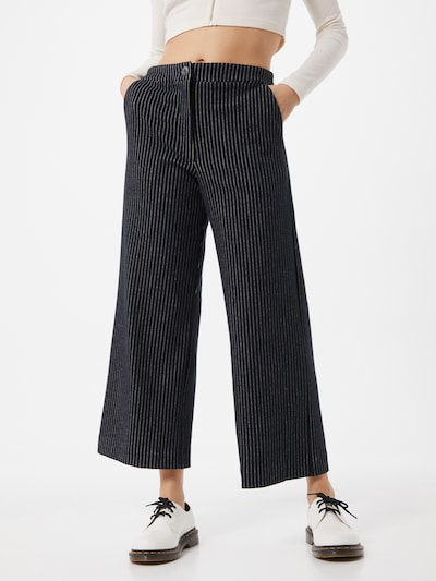 Pantaloni 'Como' JAN 'N JUNE pe negru / argintiu, Vizualizare model
