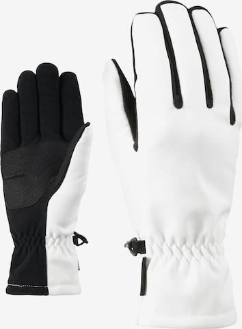 ZIENER Multifunktionshandschuhe 'IMPORTA' in Weiß