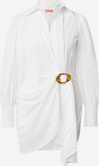 River Island Vestido camisero en blanco, Vista del producto
