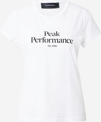 PEAK PERFORMANCE Functional shirt in black / white, Item view
