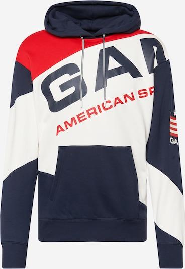 GANT Sweatshirt in Navy / Fire red / White, Item view