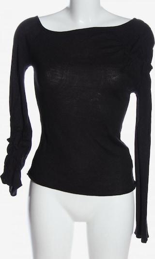 Versace Jeans Couture Strickshirt in M in schwarz, Produktansicht