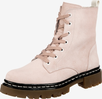 JOLANA & FENENA Lace-Up Ankle Boots in Pink, Item view