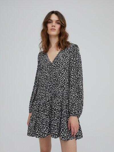 EDITED Kleid 'Eileen' in mischfarben / schwarz, Modelansicht