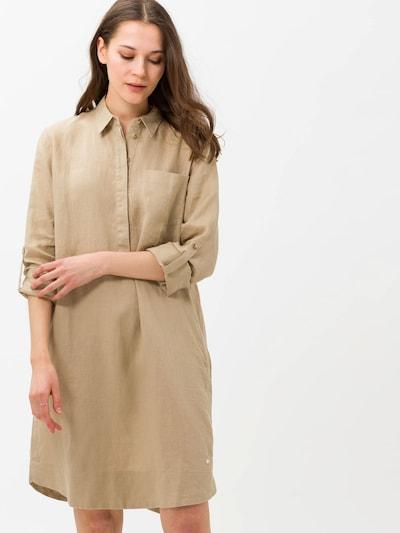 BRAX Košilové šaty 'Gillian' - světle hnědá, Model/ka