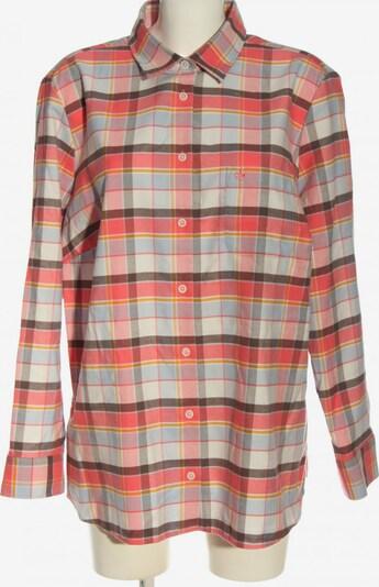 Walbusch Holzfällerhemd in 5XL in braun / hellgrau / rot, Produktansicht